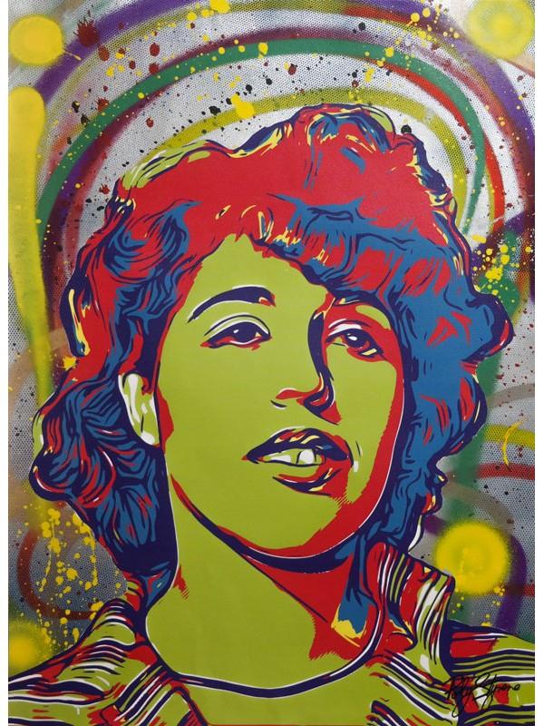 Poly Styrene - 1/3 50-70 cm Canvas