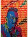 Joe Strummer - 3/3 50-70 cm Canvas