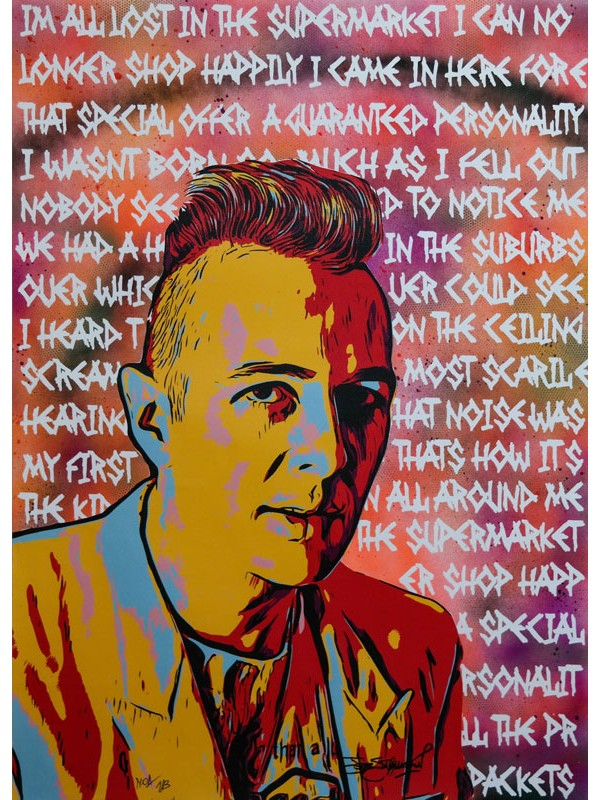 Joe Strummer - 1/3 50-70 cm Canvas